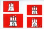 Набор флагов Гамбурга Xvii века