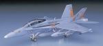 Склеиваемая пластиковая модель самолета F/A-18D Hornet D9, масштаб 1:72