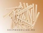 Заготовки для решеток, липа, 30х1 мм, 30 шт