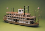 Mississippi Riverboat масштаб 1:50