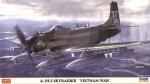 02199 Самолет Douglas A-1H/J Skyraider Vietnam War (HASEGAWA) 1/72