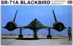 04056 Самолет SR-71 BLACKBIRD (HASEGAWA) 1/72