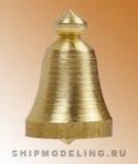 Судовой колокол, латунь, 8 мм, 2 шт