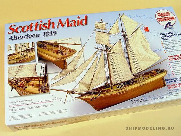 Scottish Maid масштаб 1:50