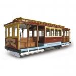 "Модель трамвая San Francisco ""CALIFORNIA STREET"", масштаб 1:22"