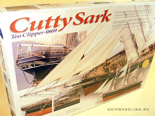 Cutty Sark масштаб 1:84