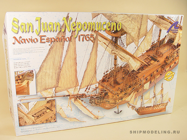 SAN Juan Nepomuceno масштаб 1:90