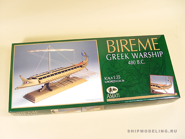 Greek Bireme масштаб 1:35