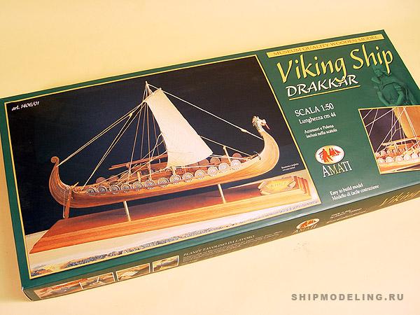 Viking Ship масштаб 1:50