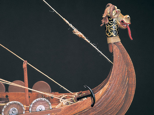 Viking Ship масштаб 1:50