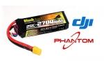 Аккумулятор для радиоуправляемых моделей Black Magic LiPo 11,1В(3S) 2700mAh 25C Soft Case XT-60 plug for DJI Phantom