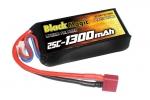 Аккумулятор для радиоуправляемых моделей Black Magic LiPo 11,1В(3S) 1300mAh 25C Soft Case Deans plug