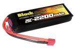 Аккумулятор для радиоуправляемых моделей Black Magic LiPo 11,1В(3S) 2200mAh 25C Soft Case Deans plug
