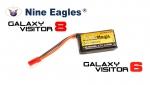 Аккумулятор для радиоуправляемых моделей Black Magic LiPo 3,7В(1S) 700mAh 30C Soft Case JST-BEC plug (for Nine Eagles Galaxy Visitor 8, Galaxy Visitor 6)