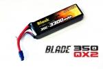 Аккумулятор для радиоуправляемых моделей Black Magic LiPo 11,1В(3S) 3300mAh 25C Soft Case EC3 (for BLADE 350 QX2 and QX3)