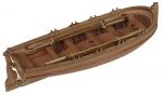 Шлюпка с веслами 75 мм