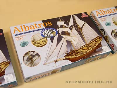 Albatros плюс инструменты масштаб 1:55