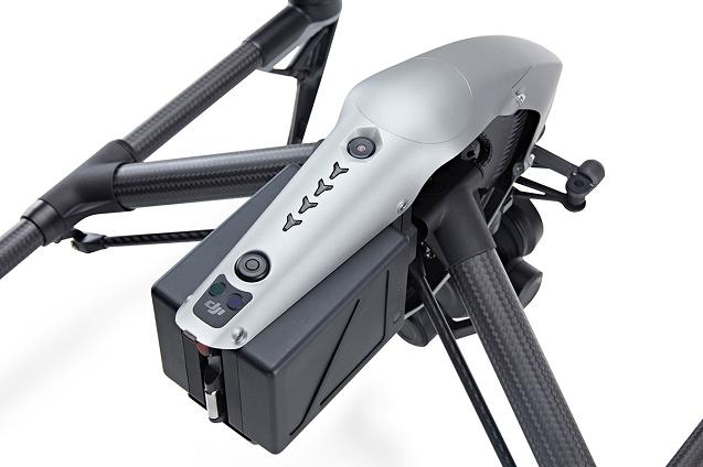 Радиоуправляемый квадрокоптер DJI Inspire 2 (без видеокамеры)