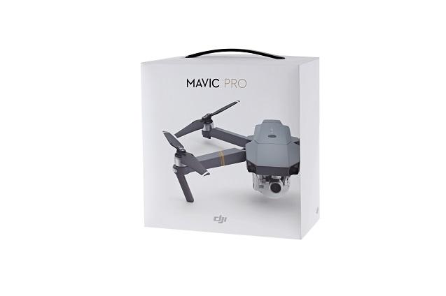 Радиоуправляемый складной квадрокоптер DJI MAVIC PRO