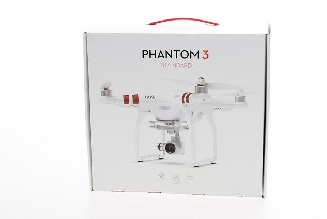 Радиоуправляемый квадрокоптер DJI Phantom 3 Standard RTF