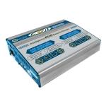Зарядное устройство CD1+ (LiXX, NiXX, Pb, 220/12V, 100Wx2, C:10A, D:5A)