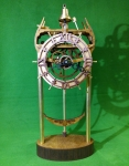 Морские деревянные часы
