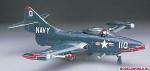 Склеиваемая пластиковая модель самолета F9F-2 Panther B12, масштаб 1:72