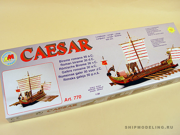 CAESAR, Roman Galley масштаб 1:30