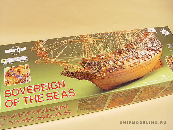 Sovereign OF THE Seas масштаб 1:78