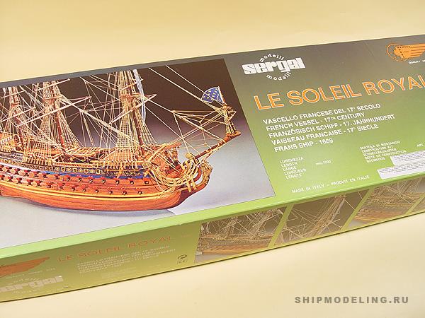 LE Soleil Royal масштаб 1:77