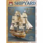 HMS Mercury, Shipyard, картонная модель масштаб 1:96