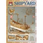 Schwarzer Rabe, Shipyard, бумажная модель масштаб 1:96