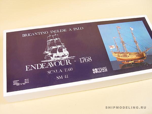 HMS ENDEAVOUR(Corel) масштаб 1:60