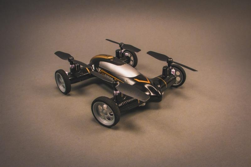 Радиоуправляемый квадрокоптер SYMA X9 Flying Car quadcopter with 6AXIS GYRO