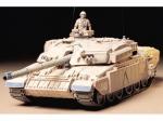 Склеиваемая модель Английский танк Challenger 1 (Mk.3) с 2 фигурами, масштаб 1:35