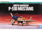 Склеиваемая пластиковая модель North American P-51D Mustang, масштаб 1:72