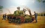 Склеиваемая пластиковая модель танк КВ-8, масштаб 1:35