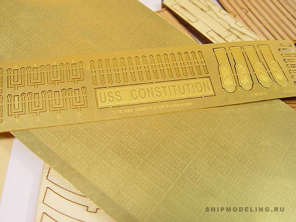 USS Constitution Сечение масштаб 1:75