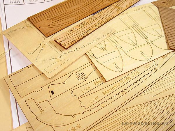 Marmara Trade Boat масштаб 1:48