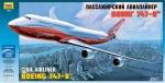 Склеиваемая пластиковая модель Боинг 747-8, масштаб 1:144