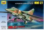 """Склеиваемая пластиковая модель Самолет """"МиГ-27"""", масштаб 1:72"""