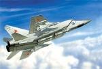 Склеиваемая пластиковая модель Истребитель-перехватчик MiG-31, масштаб 1:72