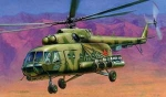 Склеиваемая пластиковая модель Вертолет Ми-8МТ, масштаб 1:72