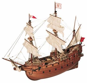 Как сделать корабль из дерева с пушками
