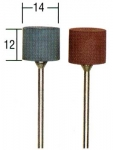 Эластичные полировальные цилиндры, 2 шт
