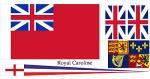 Набор флагов Англии для корабля Royal Caroline