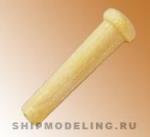 Деревянный гвоздь, самшит, 6 мм, 10 шт