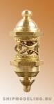 Кормовой фонарь, латунь, 13 мм