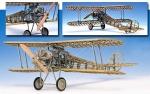 Биплан Nieuport 28 масштаб 1:16