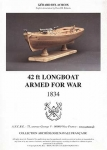 Longboat armed for war, 1834 + чертежи